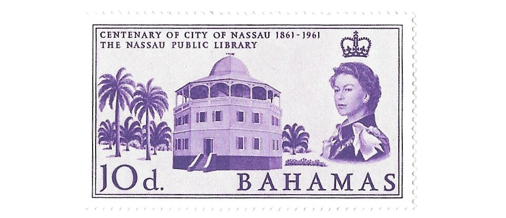 bahamas postage stamp,1962, sg222 hinged mint,#1654a