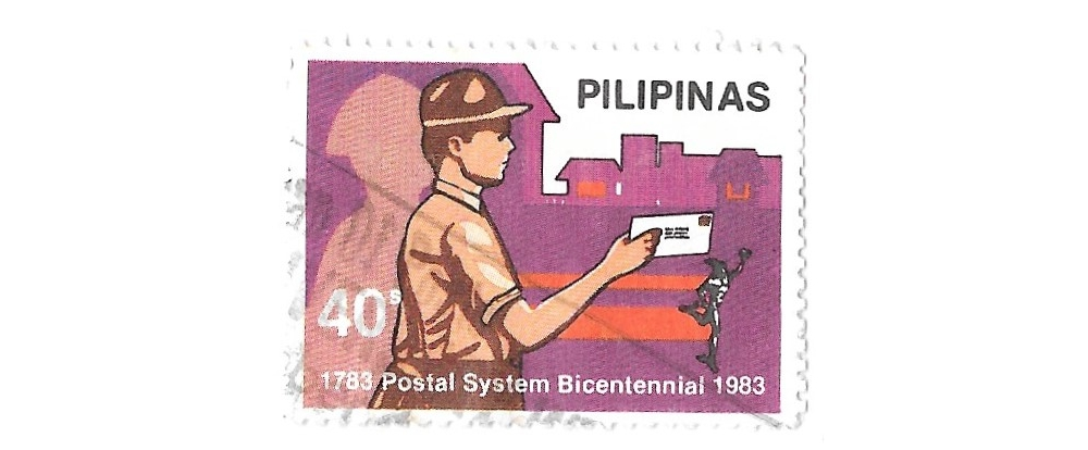 philippines postage stamp,1983,sg1775,bi-centenary of post,used,#1655a