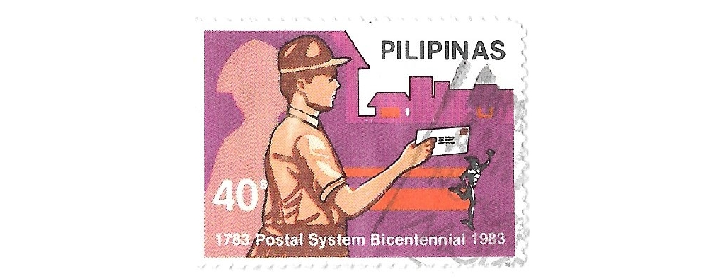 philippines postage stamp,1983,sg1775,bi-centenary of post,used,#1655b