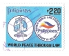 philippines postage stamp, 1977,world law con