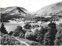 postcard - grasmere from red bank, cumbria, england  real photo - posted 1959 #1338