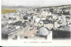 antique postcard,tangiers,africa,c 1900,unused,#3097