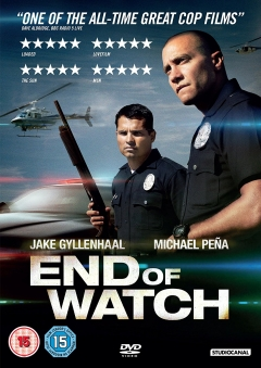 dvd- end of watch- jake dyllenhaal & micheal pena- unopened box