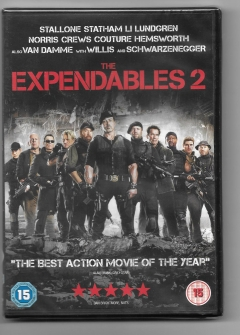 dvd - the expendables 2 - new and sealed