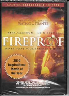 dvd - fireproof -2009-new and sealed box