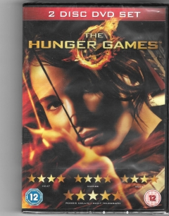 dvd - the hunger games- new box and sealed - 2 disc dvd set