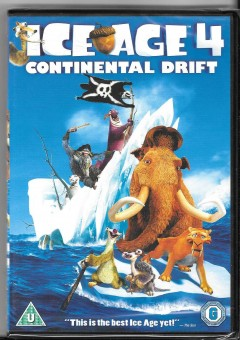 dvd - ice age 4 continental drift- new and sealed b0x