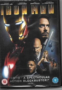 dvd - iron man- new and sealed box