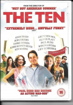 dvd - the ten - new and sealed - paul rudd, winona ryder