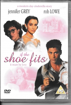 dvd -if the shoe fits it must be love. boxed new and sealed